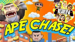 FGTeeV Ape Chase | New Update April 2019 | Let's Play!