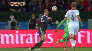 Manuel Neuer - Best Saves World Cup 2014