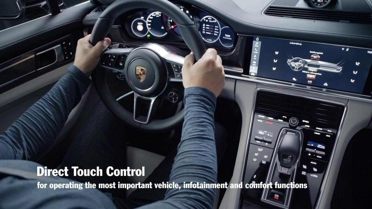 Porsche Panamera 4S >> The new Panamera – Porsche Advanced Cockpit - YouTube