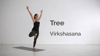 Tree Pose (Vrikshasana) Tutorial