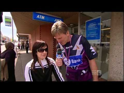 The Footy Show NRL - Street Talk with Sam Newman