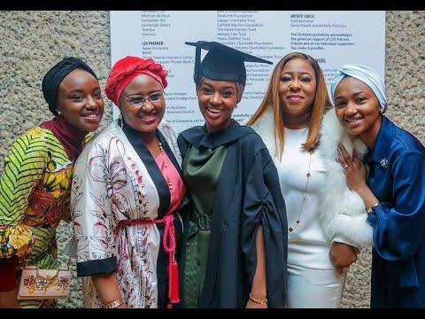 Download Buhari's daughter Hanan graduates from UK university with first class