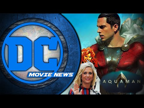 First look at Shazam! Wonder Woman 2 villain & Aquaman screenings - DC Movie News