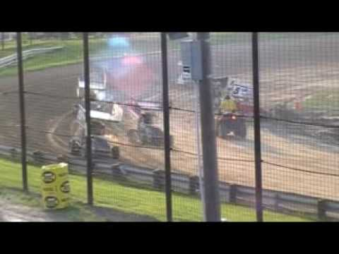 Whip City Speedway 270cc Feature 7/25/09