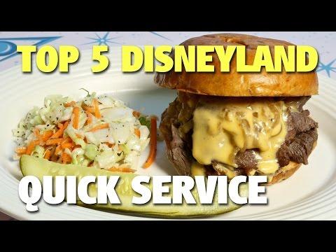 Top 5 Disneyland Quick Service Restaurants   Celebrating Disneyland