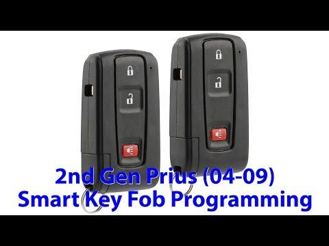 Programming Smart Key Fob Toyota Prius 2nd Gen 2004 2009 Diy Youtube