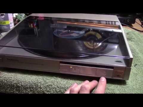 Technics SL-Q5 Turntable no play repair
