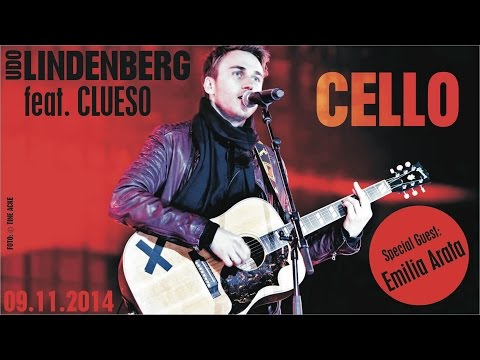 """Udo Lindenberg """"Cello"""" feat. Clueso - live in Berlin 09.11.2014"""