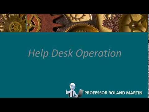 Help Desk Operation