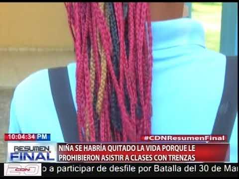 Se ahorca niña de 12 años supuestamente porque le prohibieron asistir a clases con trenzas