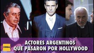 Actores que pasaron por Hollywood