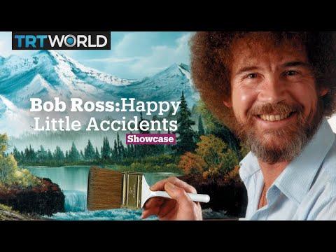 Bob Ross Malerei Dunklen Wasserfall Malerei Video Malerei