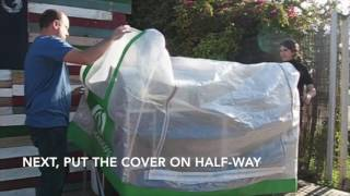 How to Put on the HomeBiogas Cover