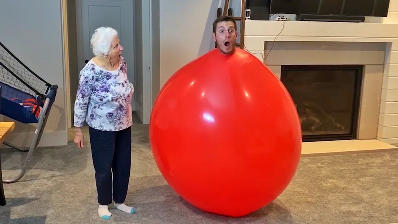 I'm Trapped Inside A Balloon!!! 😱😱😱 | Ross Smith
