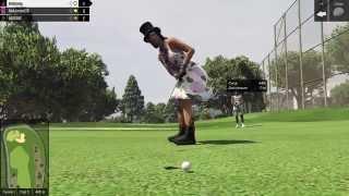 Просто гольф.