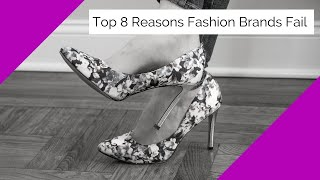 Top 8 Reasons Fashion Brands Fail | FB Live 58