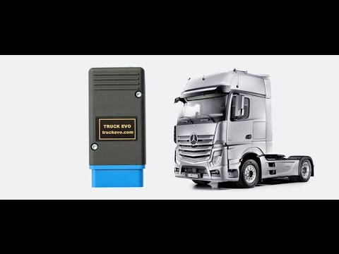 Mercedes MB Actros Truck explorer truck key programming
