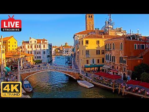Live View of Ponte delle Guglie Venice - View from Hotel Filù Venezia