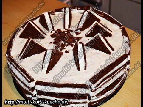 Milchschnittentorte Milk Slice Cake Youtube
