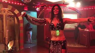 Emily Marie Belly Dance Sahara Hookah Lounge Sharonville Ohio
