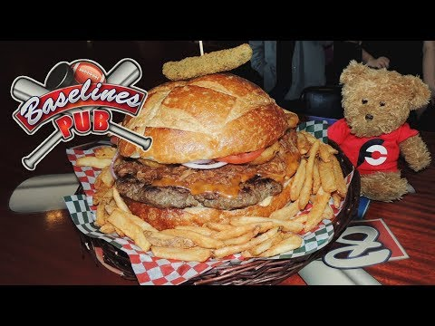 Ultimate Pulled Pork Burger Challenge In Vancouver, Canada!!
