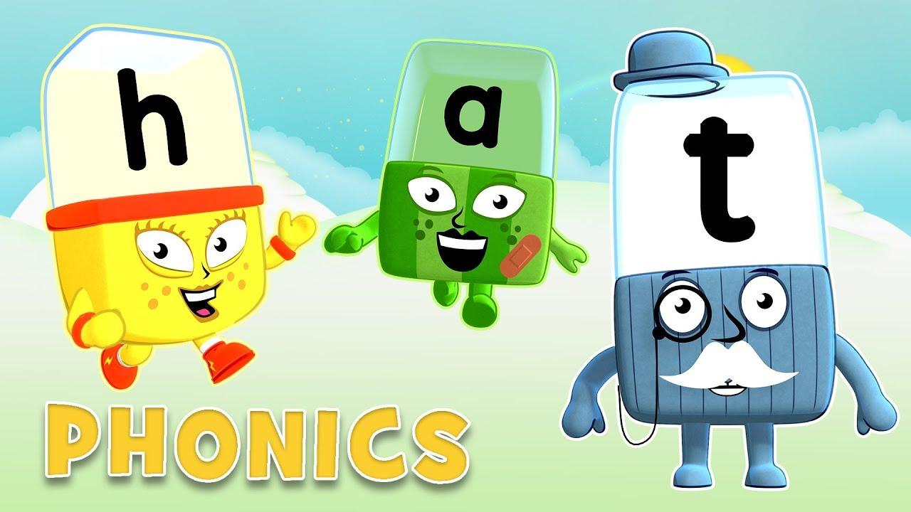 Phonics using letter teams learn to read alphablocks for B b com