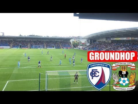 Groundhop Chesterfield VS Coventry City /Proact Stadium