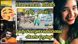 Download Shreeman legend raids on Lady Don Gaming | PUBG Best Moments Mp3 and Videos