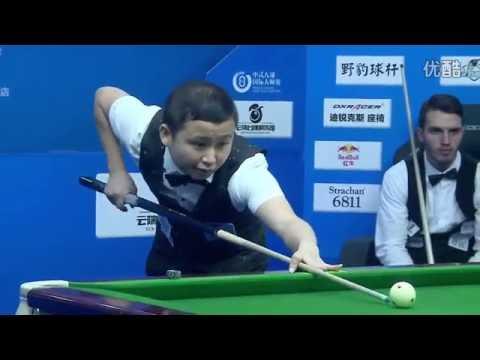 Liu Shenliang VS Vincent Halliday (SA) - World Chinese 8 Ball Masters Jiujiang - Part 2
