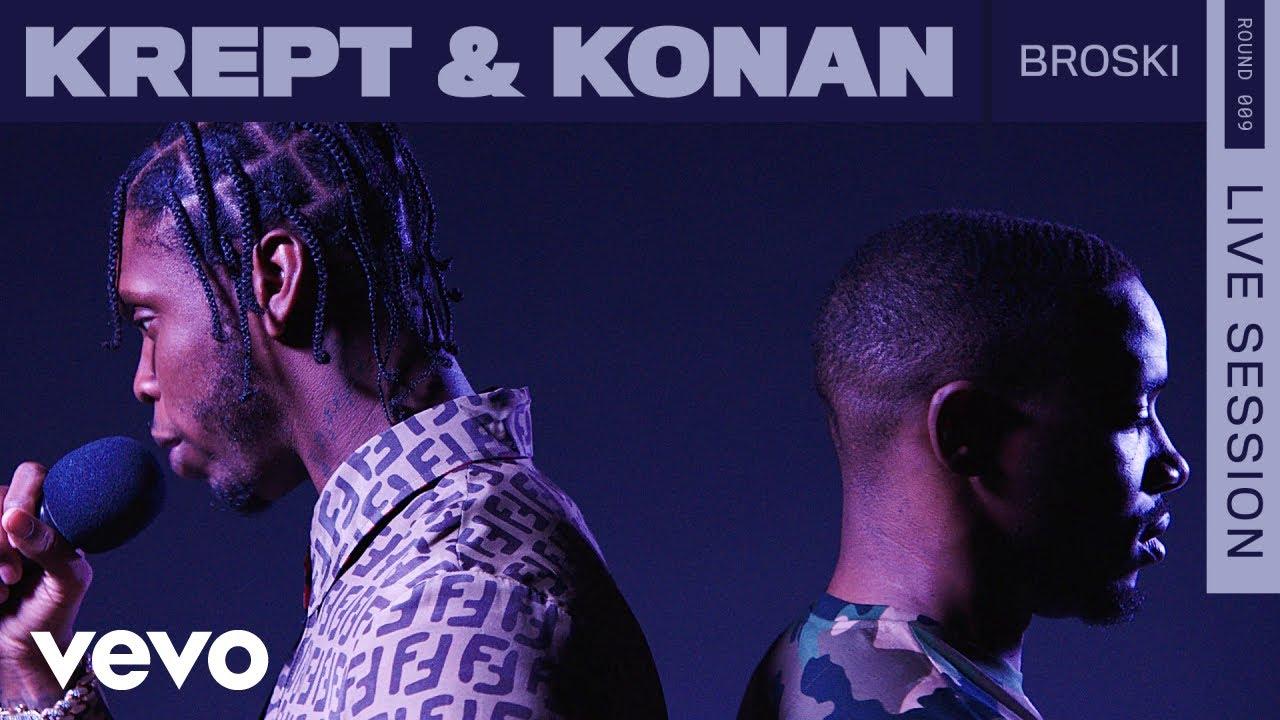 Krept & Konan - Broski (Live | ROUNDS | Vevo)