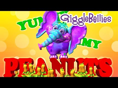 The Gigglebellies Peanut The Elephant