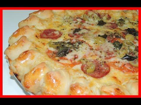Pizza Hut pop a Receita mais fácil de fazer em casa