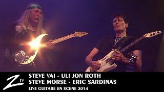 """Steve Vai, Steve Morse, Uli Jon Roth & Eric Sardinas """"Hey Joe"""" - LIVE HD"""