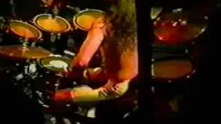 Megadeth The Conjuring Live 1990 Drum Cam