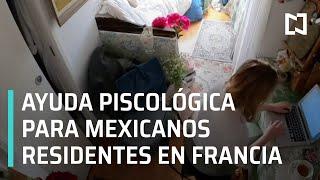 Atención psicológica para estudiantes mexicanos en Francia durante la pandemia de Covid-19 -En Punto