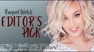 Raquel Welch EDITORS PICK Wig Review| RL19/23SS & RL12/22SS | 2 Colors & LOTS OF STYLING!