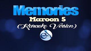 MEMORIES - Maroon 5 (KARAOKE VERSION)