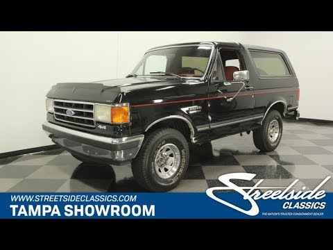 1990 Ford Bronco XLT 4×4 for sale | 1460-TPA