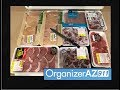Weight Loss Vlog | Meal Planning and Food Prep (Organizer AZ 911)
