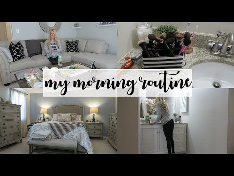 My Morning Routine | Clean With Me + Working From Home | Erica Lee