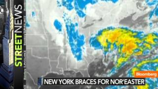 New York Area Braces for Post-Sandy Nor
