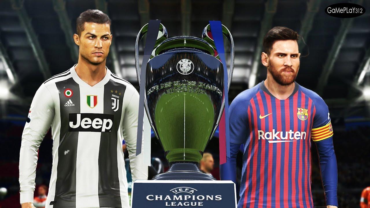PES 2019 - Barcelona vs Juventus - Final UEFA Champions ...