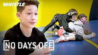 10-Year-Old FIGHTING Beast! | Wrestling & Jiu Jitsu Prodigy