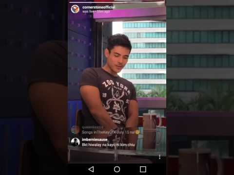 Xian Lim promoting his concert, Songs in the Key of X, on ANC Headstart with Karen Davila