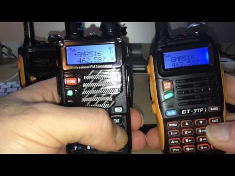 Baofeng Radio Scanning Comparison