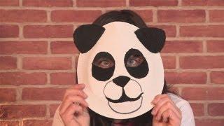 كيفية جعل قناع الباندا
