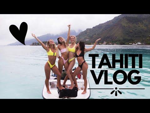 4 GIRLS, 1 HOAKA IN TAHITI // VLOG by Emy-Jade