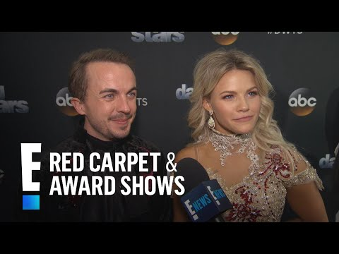 """Frankie Muniz & Witney Carson Talk Perfect """"DWTS"""" Scores 