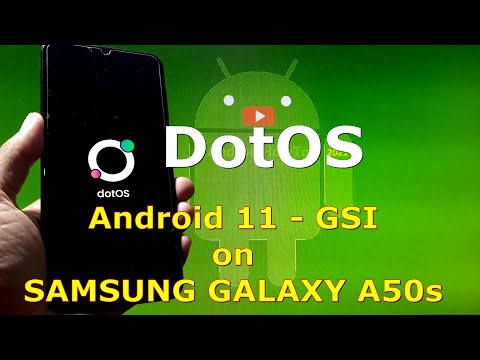 DotOS v5.0.0-1 Android 11 for Samsung Galaxy A50s - GSI