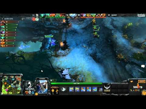 Secret vs VG - The Summit 2 LAN - G4